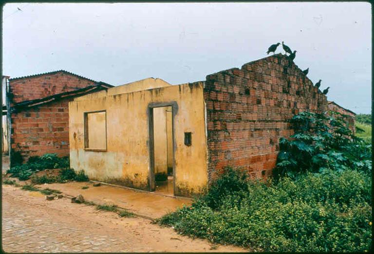 Maison sans toît, Bahia (Brésil)