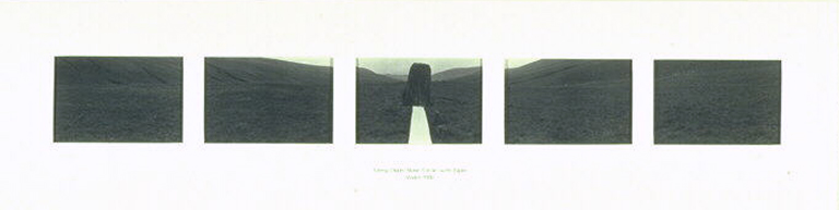 Cerrig Duon Stone Circle with Paper, Wales 1980