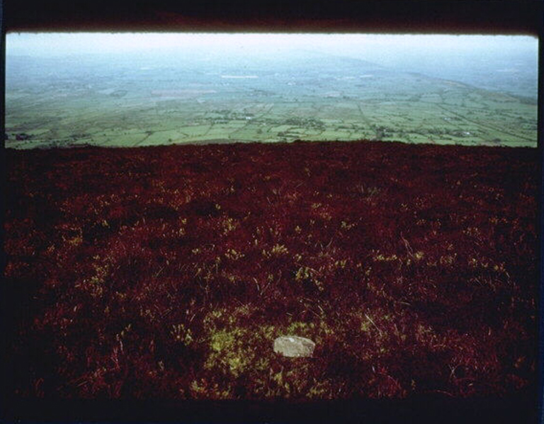 A stone carried from the bottom to the top of Mount Slievenamon,Ireland 1981
