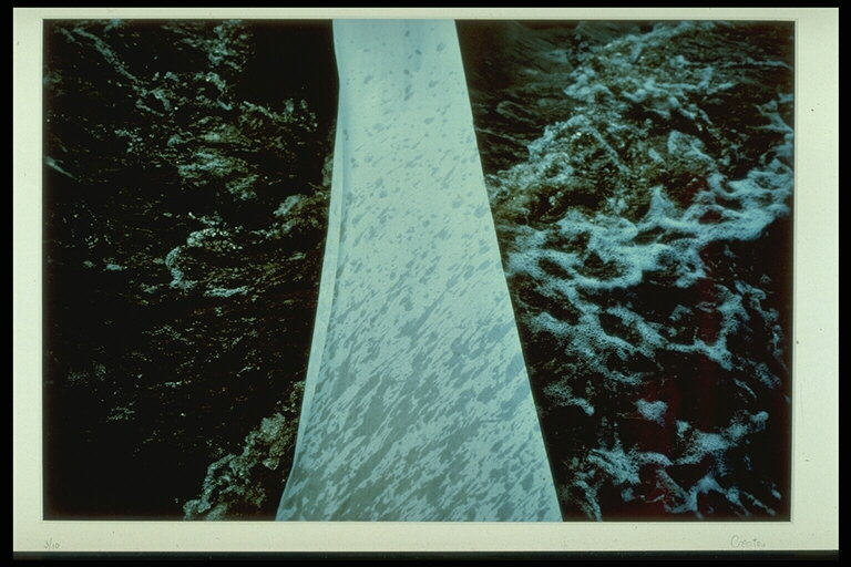 Paper Crossing the Meeting of Waters: Stream and Sea,Newfoundland 1982