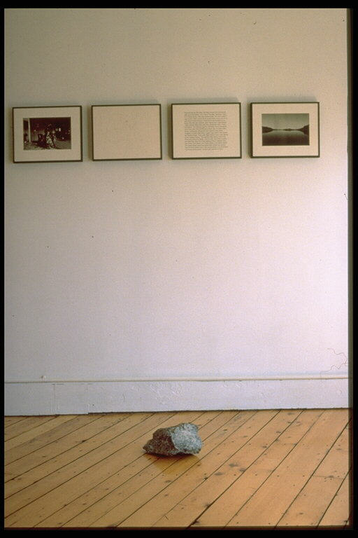 Jim Voisey, Labrador 1988 (from The Distance Between Two Points isMeasured in Memories)